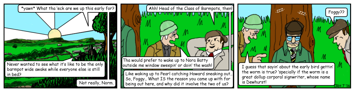 Summer Wine Comic 86 by MST3Claye
