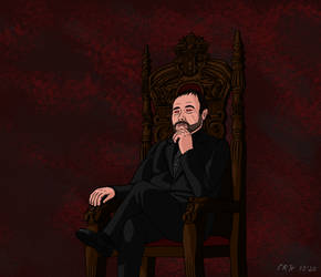 Crowley (Red Demon Eyes) - Supernatural