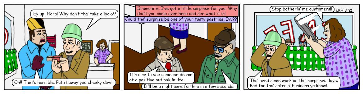 Summer Wine Comic 142