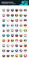 Europe Flags - Rounded Icons