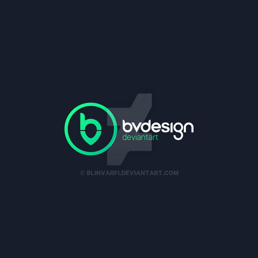 My personal logo bv design by blinvarfi on deviantart for Fvb interieur designs bv