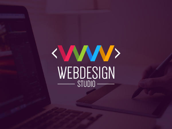 Web Design Studio Logo Template