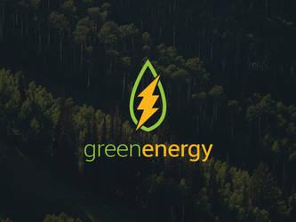 Green Energy Logo Template by BlinVarfi