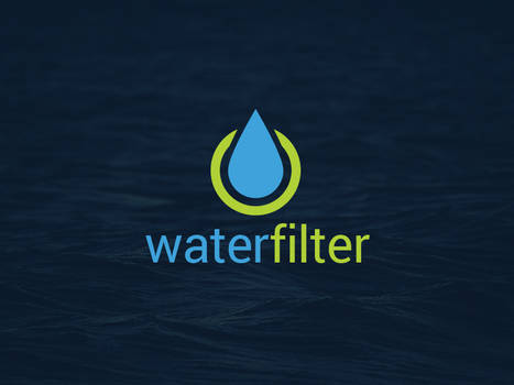 Water Cleaner Logo Template