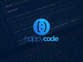 Happy Code Logo Template by BlinVarfi