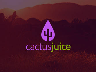 Cactus Juice Logo Template by BlinVarfi