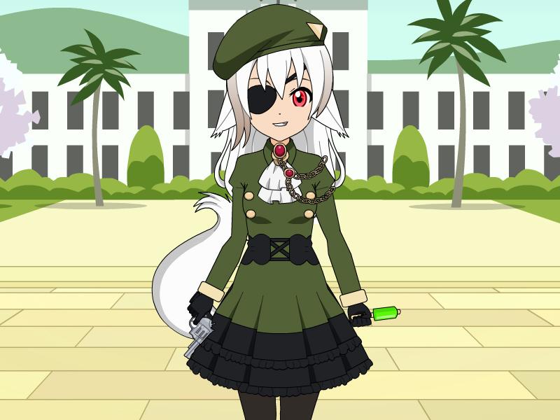 Captain Greta whitetail by hibarikyouya4