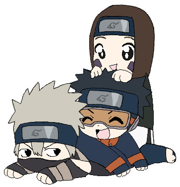 Chibi Team Minato by animeheart10