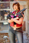 Who's the badass now? - Claire Redfield