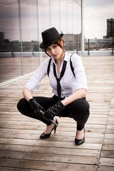 Helluva day - Noir Claire Redfield by Sheenah
