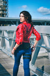 Watch your Six! - Claire Redfield - RE2 Remake by Sheenah