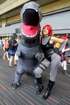Best Friends! - Regina and T-Rex - Dino Crisis
