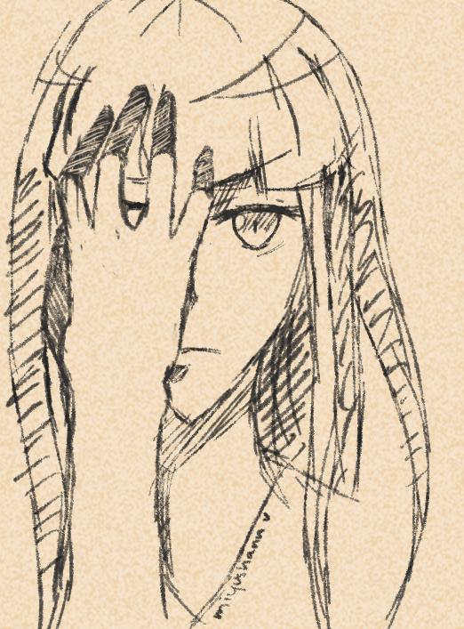 [ Sample ] Headshot Sketch v2 by Mimimi76