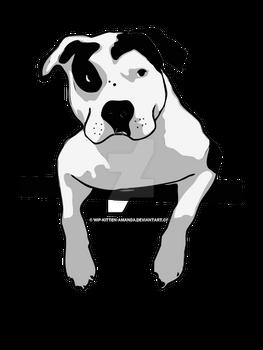 Pit Bull T-Bone Graphic