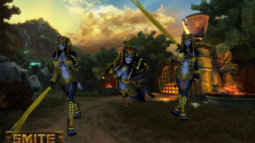 God Reveal: Bastet the Goddess of Cats by blazincheshirecat on ...