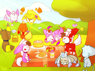 Picnic by ShootingStarEon
