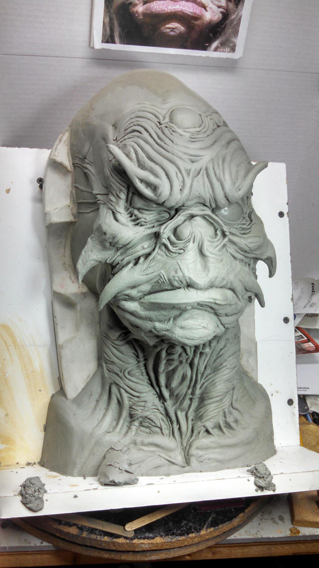 Aughra Sculpt 2 by propsculptor on DeviantArt