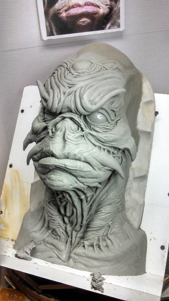 Aughra Sculpt 1 by propsculptor on DeviantArt