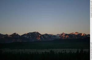 Sierra mountain sunrise 3 by RoonToo