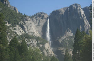 Yosemite 8 waterfall
