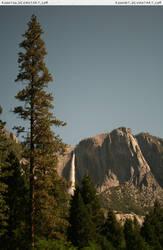 Yosemite 13 pine + waterfall