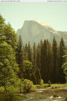 Yosemite 19 Half Dome by RoonToo
