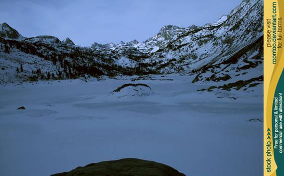Lake Sabrina winter 3