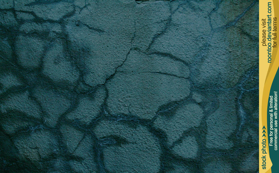 Cracked concrete 5 by RoonToo