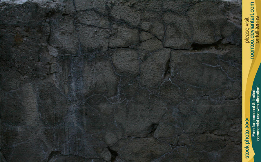 Cracked concrete 7 by RoonToo