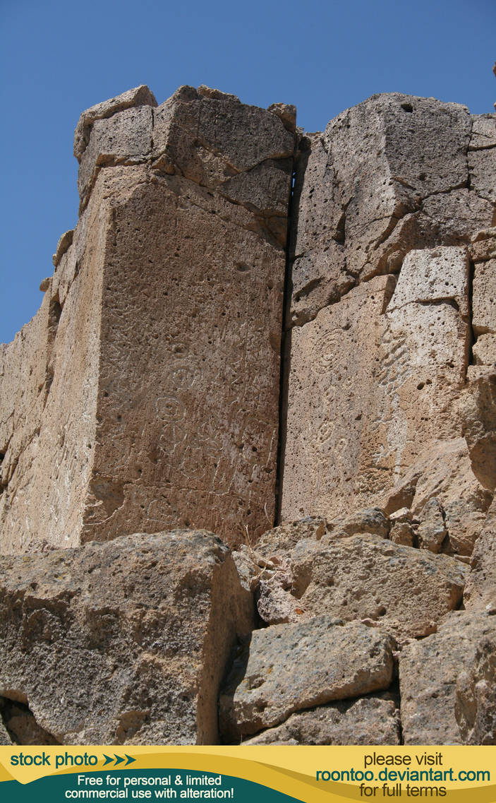 Petroglyphs 17 by RoonToo