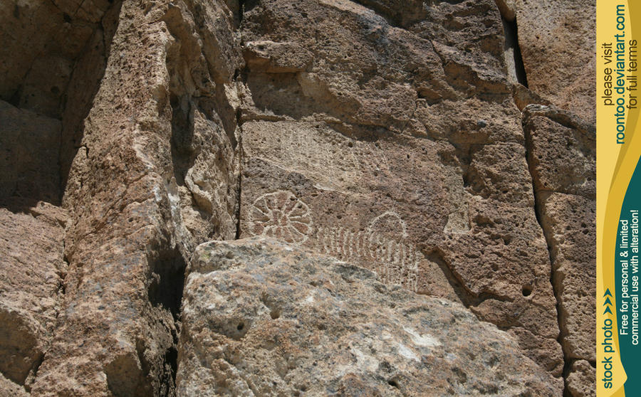 Petroglyphs 42 by RoonToo