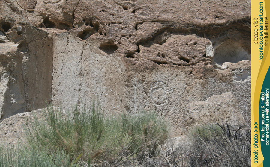 Petroglyphs 46 by RoonToo