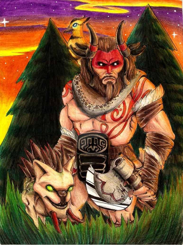 beastmaster dota 2 by chokonekonyan on deviantart