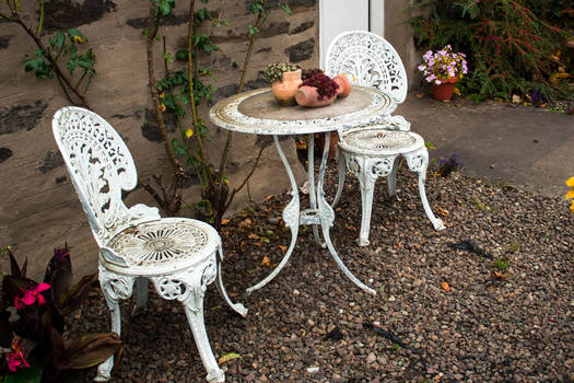 Countryside table and chairs