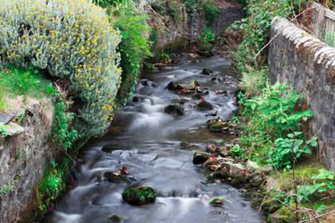 narrow stream
