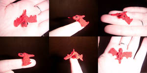 Micro crochet Dragon