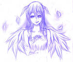 Le demon sketch by Ultima-Dirge