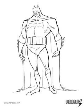 Batman Design - Inked