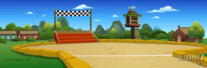 Pucca Layouts - Race Track by ultrapaul
