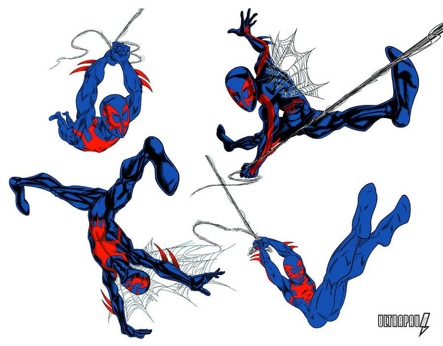 Spider-Man 2099 2 By Ultrapaul On DeviantArt