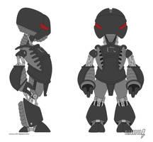 Machina Bot Design by ultrapaul