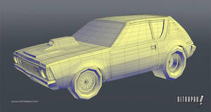 AMC Gremlin Wireframe by ultrapaul