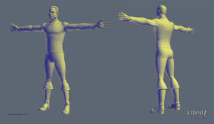 Captain Kirk Wireframe by ultrapaul