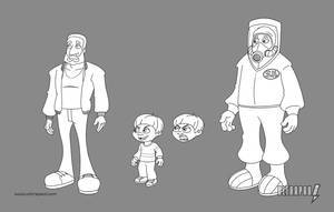 Action Dad Incidental Characters