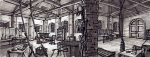 Frakenstein's Laboratory by ultrapaul