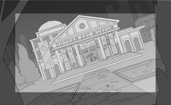 Gotham Art Gallery Entrance