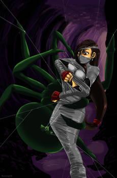 Tifa in the Spider's Grasp