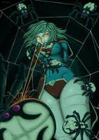 Supergirl's Desperate Battle by burnup19