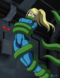 Space Tentacles Samus