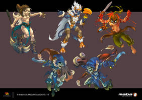 Panoply Dofus Games - Wakfu Games by MabaProduct